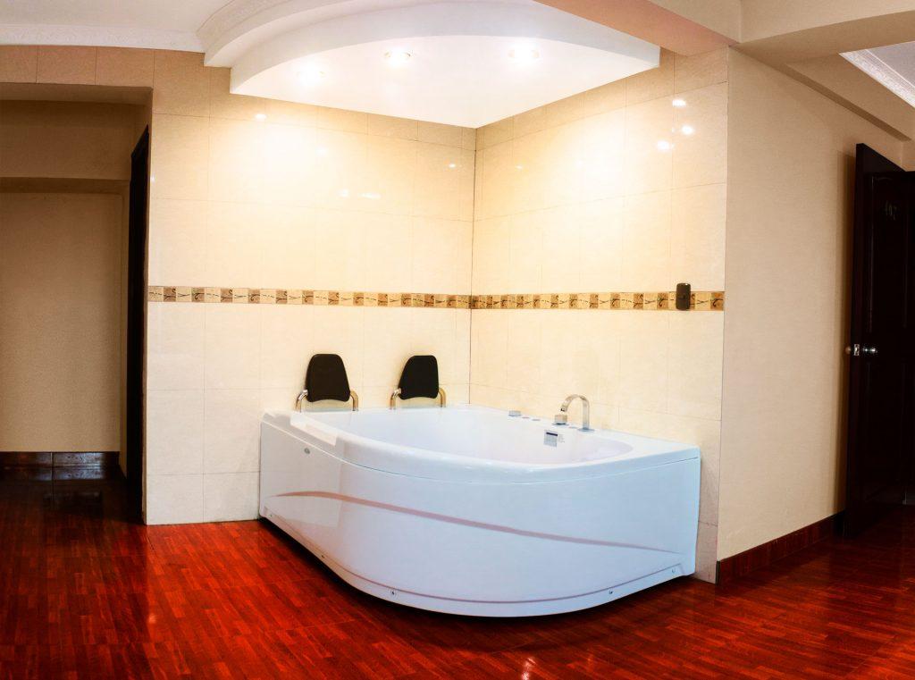 habitación presidencial jacuzzi